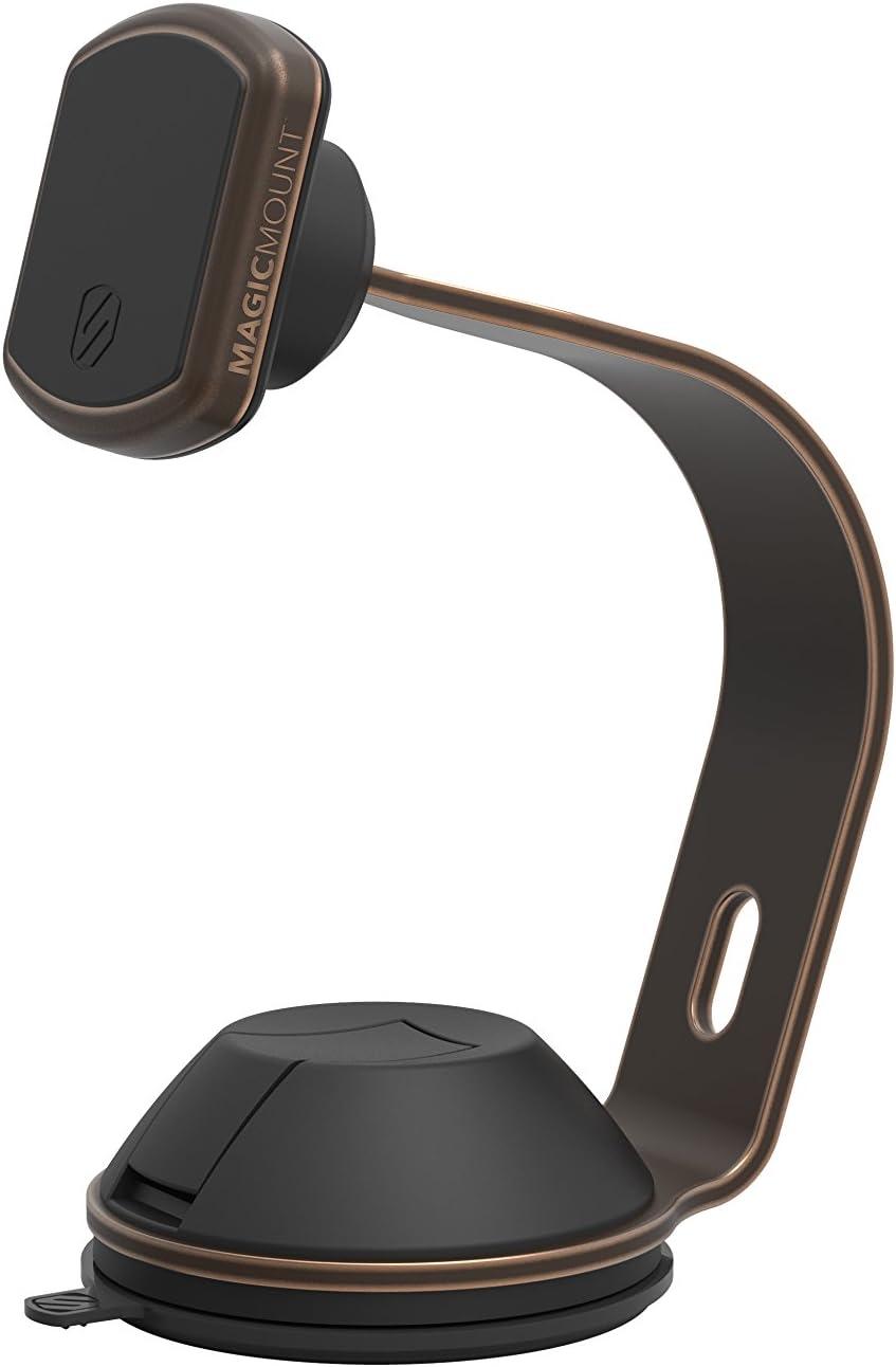 SCOSCHE MPOHMBZ MagicMount Pro Universal Magnetic Apple Watch Mount Holder for Mobile Devices, Bronze