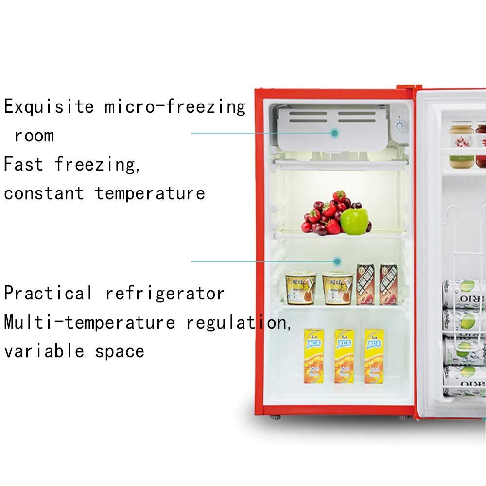 Refrigerador compacto de una puerta con congelador compacto para ...