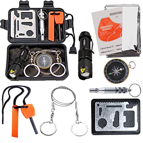 EMDMAK Survival Kit Outdoor Emer...