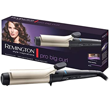 Remington Ci5338 - Rizador de pelo 38 mm, hasta 210º C ...