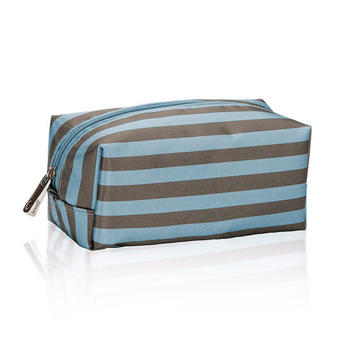 Thirty One Uptown Mini Pouch in Perfect Stripe - No Monogram - 4954