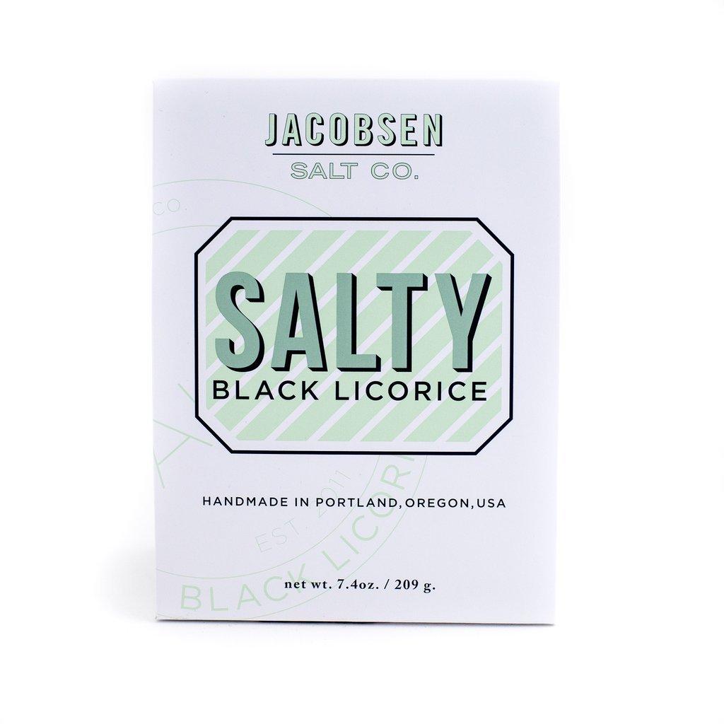 Jacobsen Salt Co. Salty Black Licorice, 7.4 Ounce
