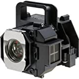 Guaranteed for One Year! Epson ELPLP49 , V13H010L49 Premium Replacement DLP/LCD Cinema Projector Lamp with Housing