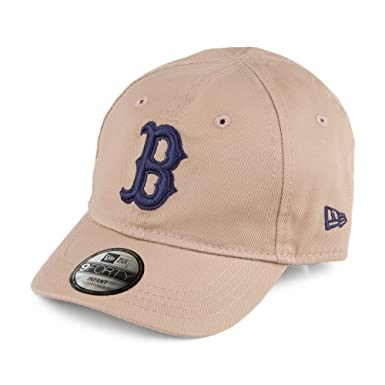 5b4e9744111 New Era Baby 9FORTY Boston Red Sox Baseball Cap - MLB League Essential -  Camel Infant