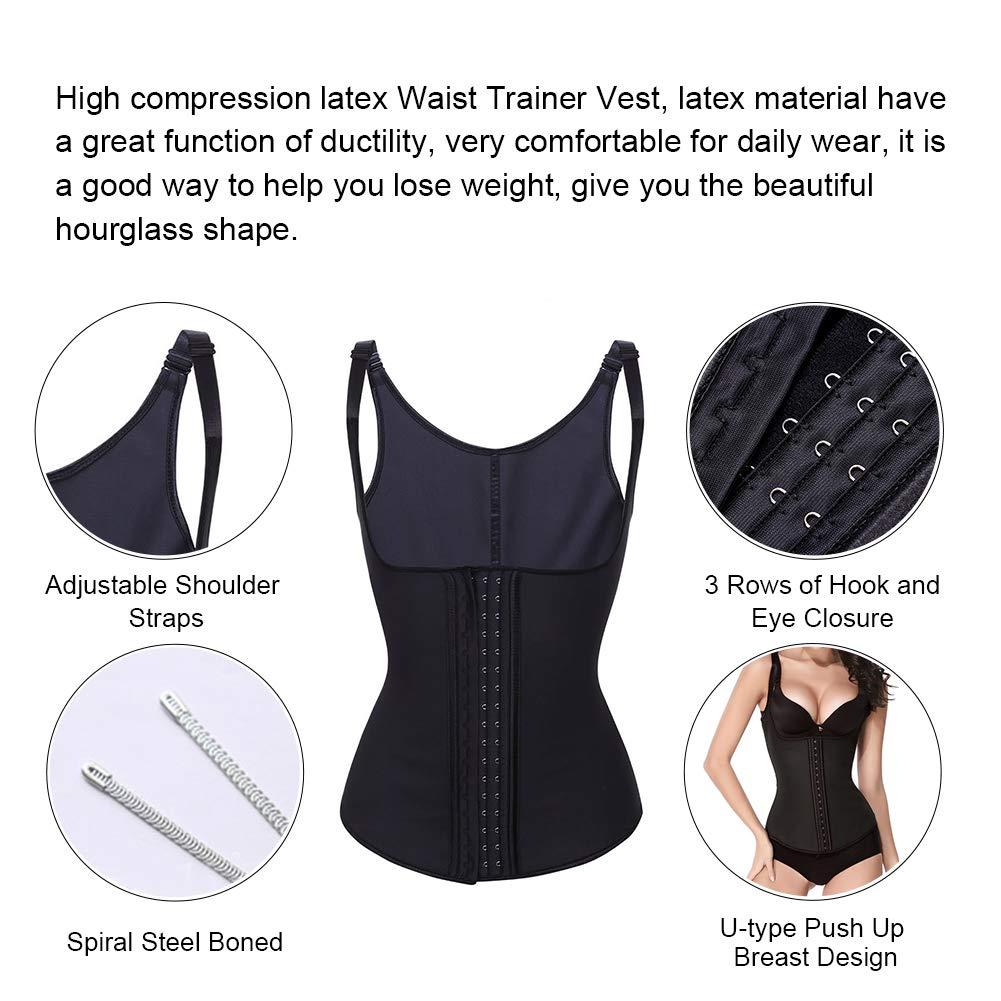 d68c57af76 Lover-Beauty Women s Underbust Corset Waist Trainer Cincher Body Shaper Vest  Size XL Black - L4470-XL   Waist Cinchers   Clothing