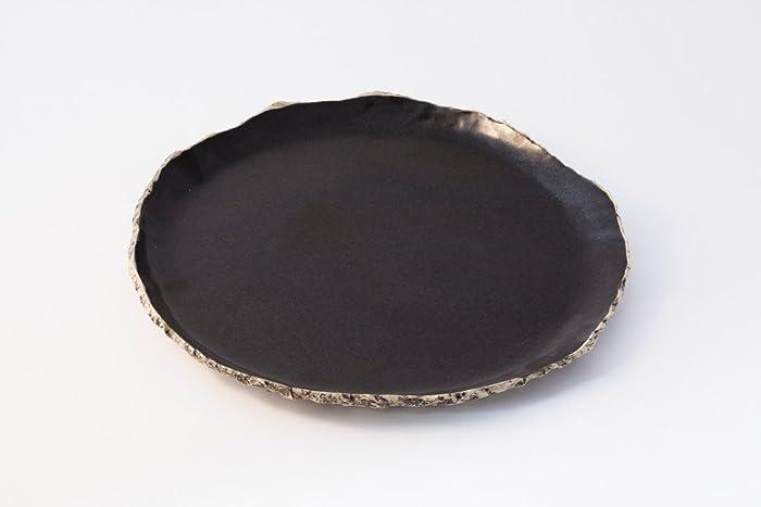 Black breakfast plate Ceramic plate Handmade dinnerware plate Stoneware plates Rustic pottery & Amazon.com: Black breakfast plate Ceramic plate Handmade ...