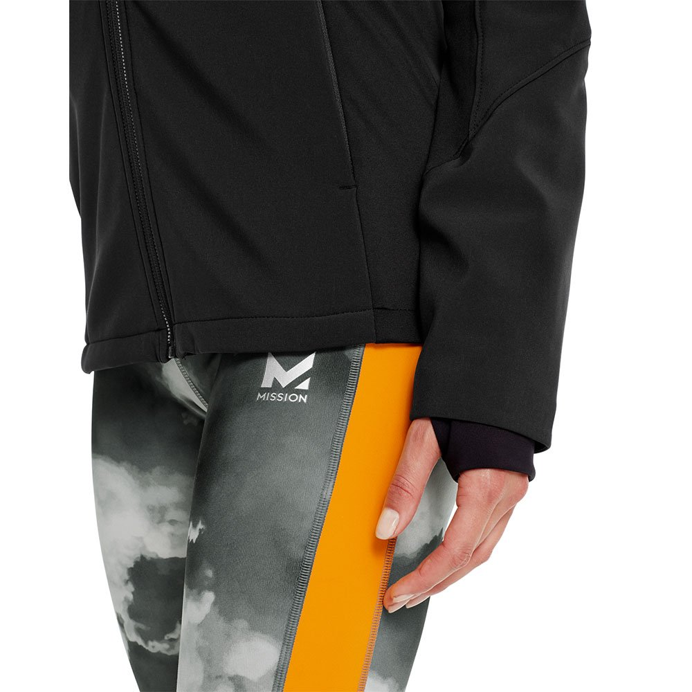 Mission Women's VaporActive Catalyst Jacket, Moonless Night, Medium by Mission (Image #4)