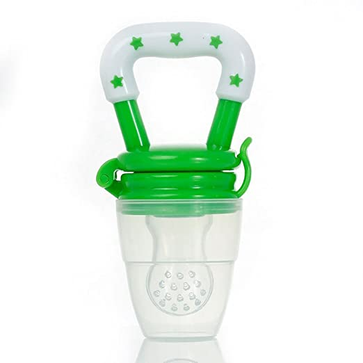 Amazon.com: KUOU sin BPA silicona Baby Fruit Feeder Chupete ...