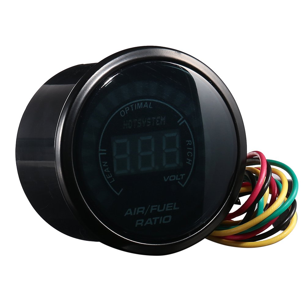Hotsystem New Car 2 52mm Digital Color Analog Led Air Fuel Gauge Wiring Diagram Answers Everything You Need Jeep Ratio Monitor Automotive