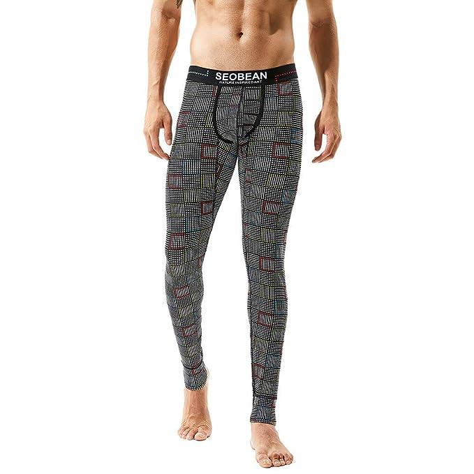 Pantalones de Hombre de BaZhaHei Pantalones Cortos térmicos Transpirables para Hombre Calzoncillos Deportivos térmicos Pantalones de Estampados para ...