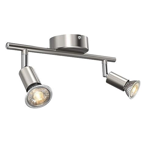 Uchrolls Foco LED para techo I 2 vías lamparas de techo led ...