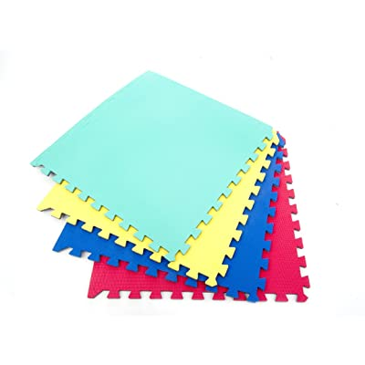12 x Suelo Para Ninos Y Infantiles EVA Puzzle Colchonetas 60cm x 60cm x12mm: Bebé