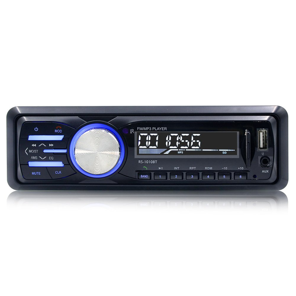 Bestree 12v Bluetooth In Dash Car Stereo Receiver Fm Jensen Wiring Harness Diagram Further Xo Vision Radio Mp3 Audio Player With Remote Control Rs 1010bt Electronics