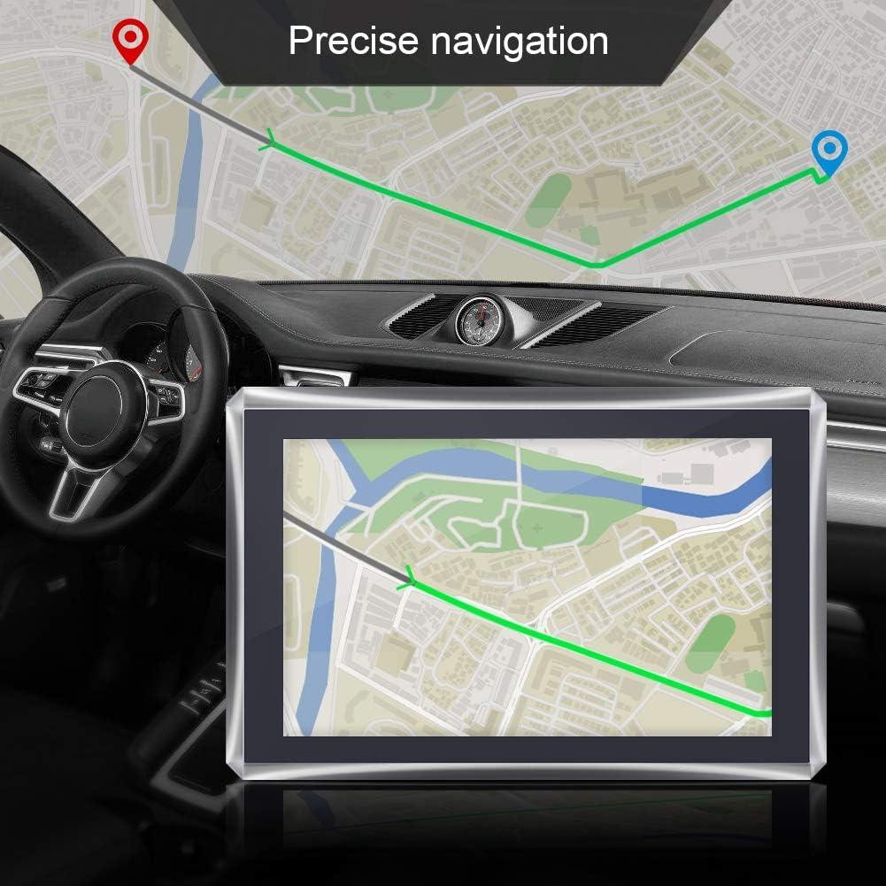 pantalla t/áctil de 5 pulgadas Navegador port/átil para autom/óvil Navegaci/ón GPS 128M 4GB FM /Último 2020 Mapa gratuito Europa Navegaci/ón GPS para autom/óvil