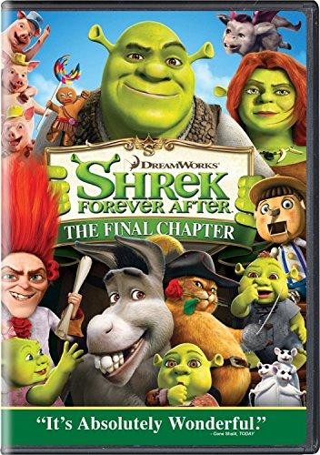 Shrek Forever After (Single-Disc Edition) (Best Cartoons Ever Made)