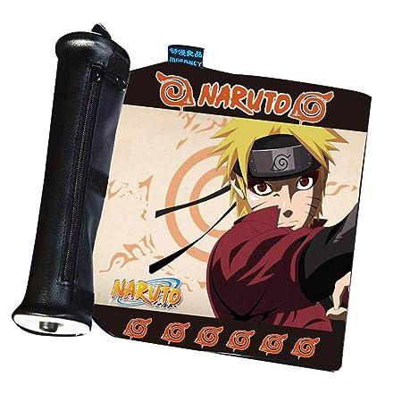 Anime Naruto Ninja Logo Pencil Case Pen Bag