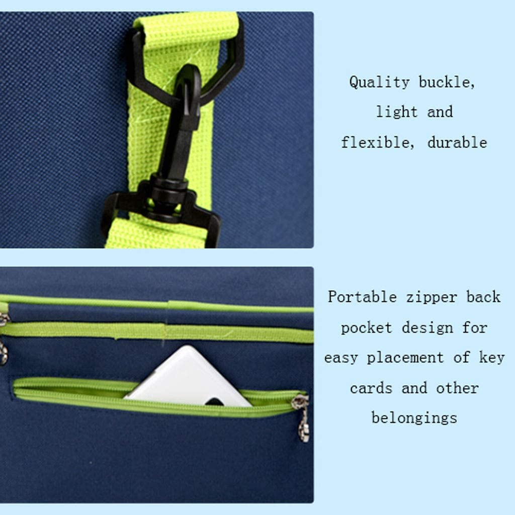 Zxb-shop Borsa Termica Porta Pranzo Outdoor Isolamento Bag Isolamento Fresco di Mantenimento Pranzo Sacchetto Esterno Picnic Bag Portable Picnic Bag (Color : H) G