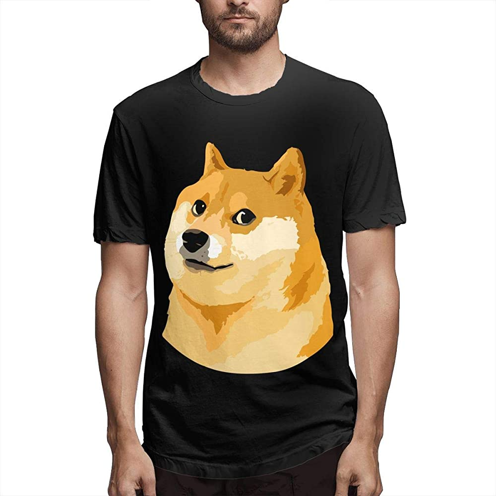Nuevo Hombre Camisas de Manga Corta Doge Dog Ropa de Verano Tops para Hombres M: Amazon.es: Ropa y accesorios