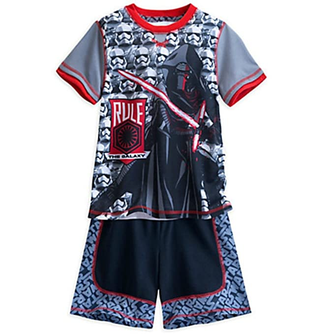 Star Wars: The Force Awakens Short Sleep Set Pajamas for Boys (4)