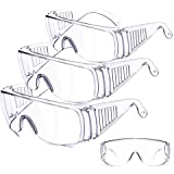ONV Safety Goggles Safety Glasses Protective Goggles for Chemical Splash Impact Resistant Fully Enclosed Clear Anti-Fog…