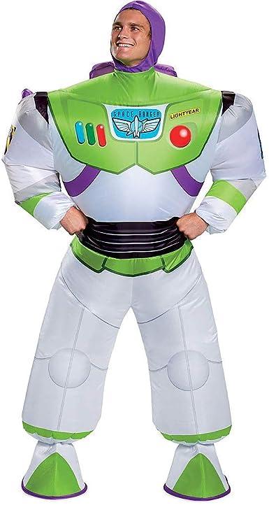 HalloCostume Disfraz de Buzz Lightyear Inflable para Adultos, Toy ...