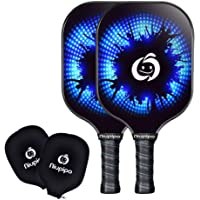 Deals on Niupipo Pickleball Paddles Set of 2 with Covers