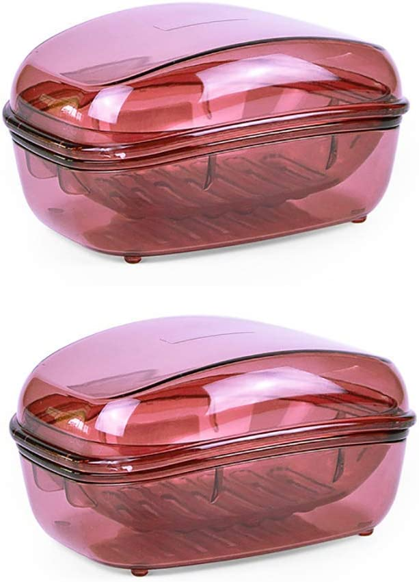 Portasapone in plastica Trasparente di Grandi Dimensioni Style 2 Portatile per casa HomeFairy Cucina