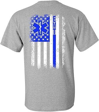 Patriot Apparel EMT Emergency Medical Technician T-Shirt Black 58a7de00d