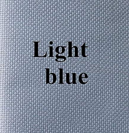 Color: Black, Size: 53 cm X 65 cm Zamtac 53cm X65cm Aida 18ct White Cloth Pink Blue Black Cross Stitch Fabric Canvas DIY Handmade Needlework Sewing Craft Many Color