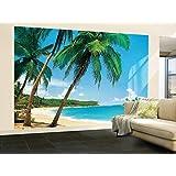 (100x144) Ile Tropicale Tropical Isle Huge Wall Mural Art