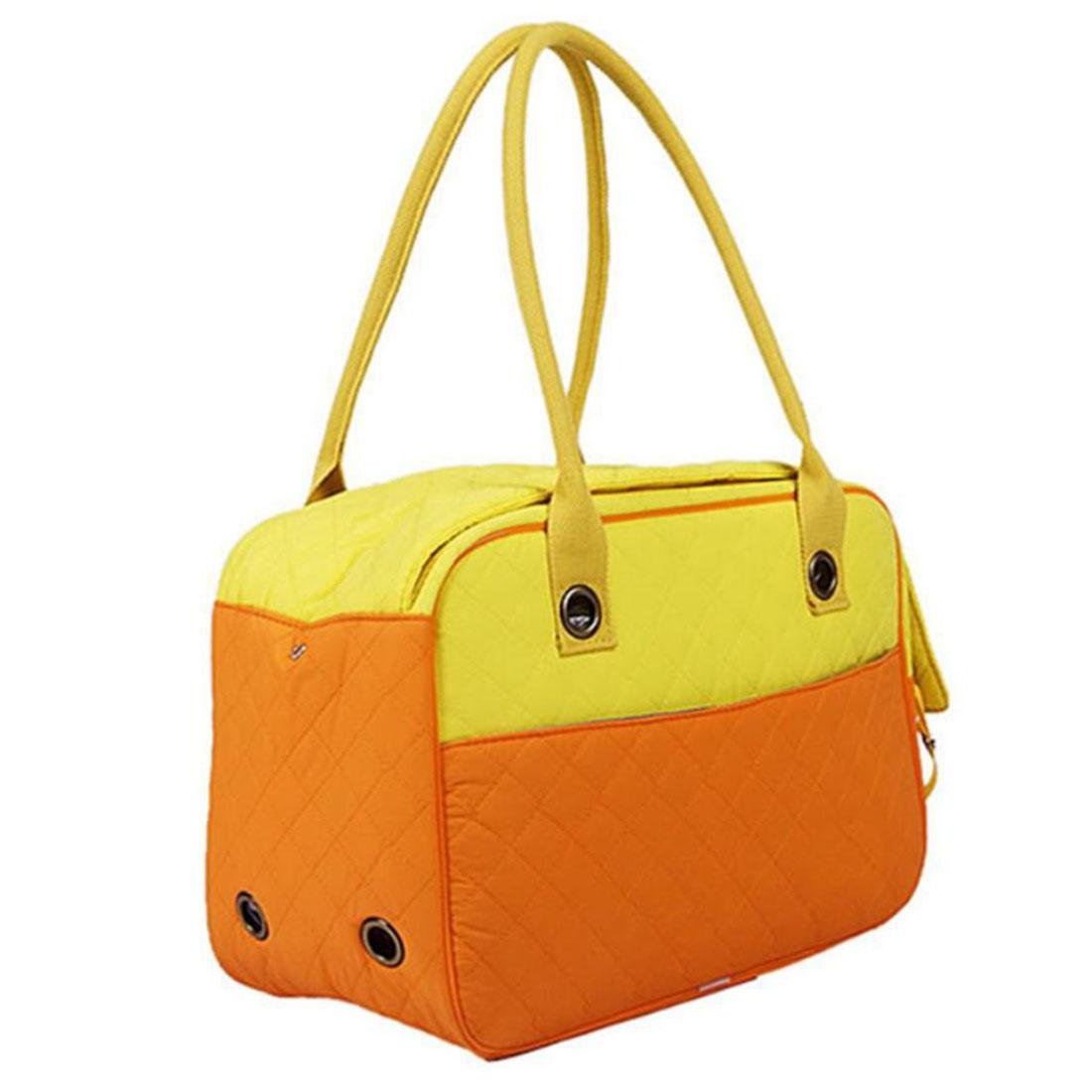 LVRXJP Pet Carrier Tote Bag Dog Carrier Soft Sided Cat Dog Handbag Hand bag Black White, l