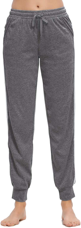 MINTLIMIT Women Pajamas Pants Drawstring Stripes Lounge Pants with Pockets