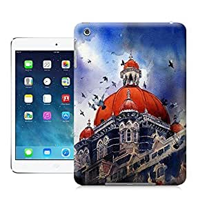 Unique Phone Case Watercolor style architecture#5 Hard Cover for ipad mini cases-buythecase