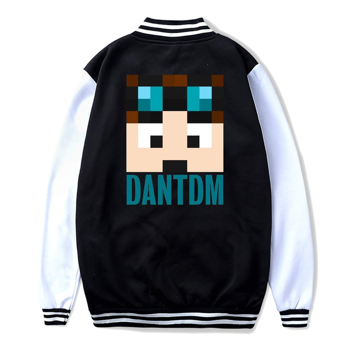 LianLiYa Boys DanTDM Avatar Baseball Bomber Jacket Outerwear