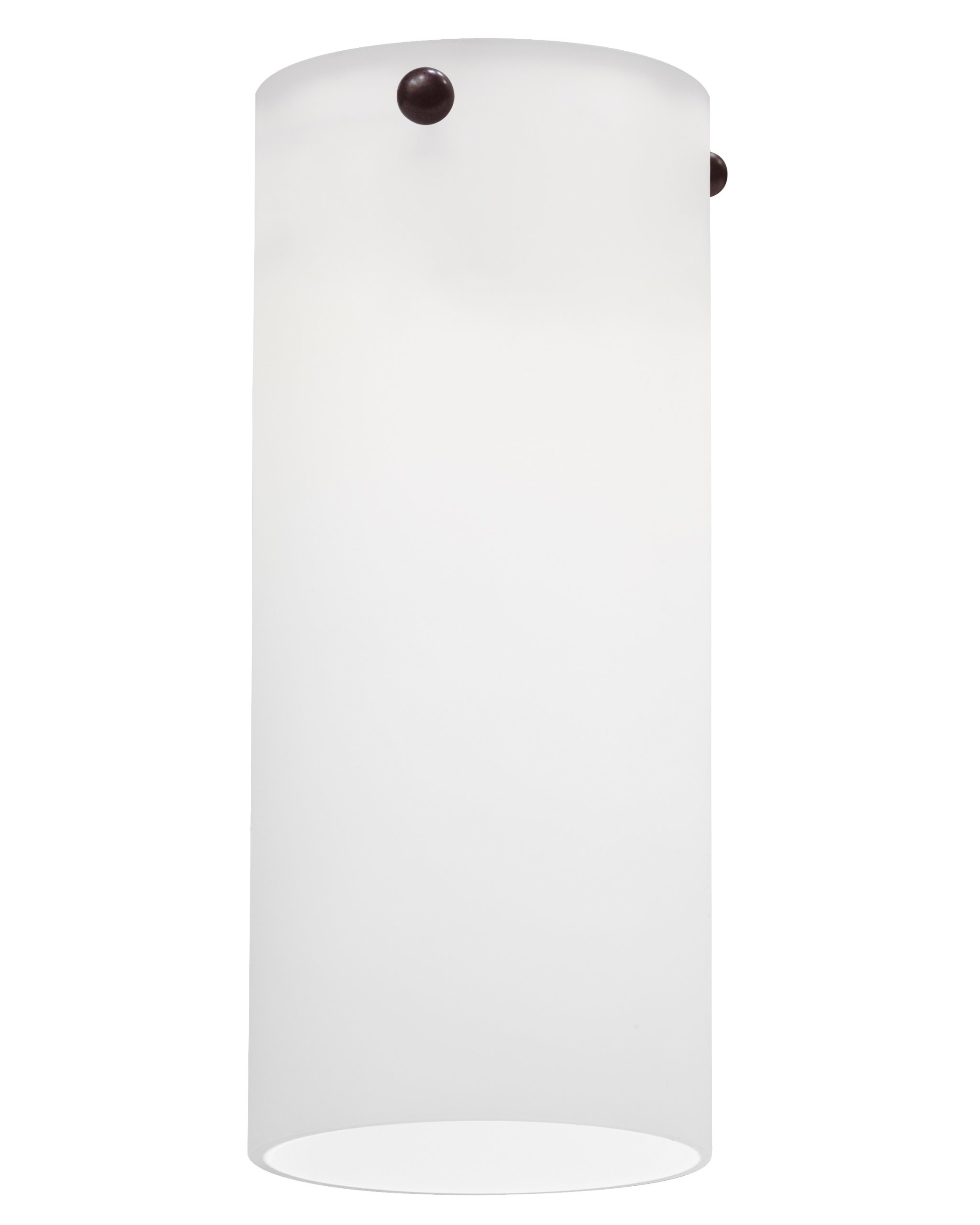 Lithonia Lighting DTCL 1001 M6 Decorative Pendant Shade Designed to Fit Tall Cylinder, Pendant, and Sconce Fitters only, Opal White