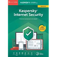 Kaspersky Lab Internet Security 2019 3 Dispositivi 1 Anno - Rinnovo