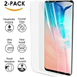 HEYUS [2 Pack] Samsung Galaxy S10 HYDROGEL Aqua Flex Screen Protector Film Protection [NOT Tempered Glass][NO Bubbles] [Case Friendly] [Scratch Proof] [Ultra Tough]