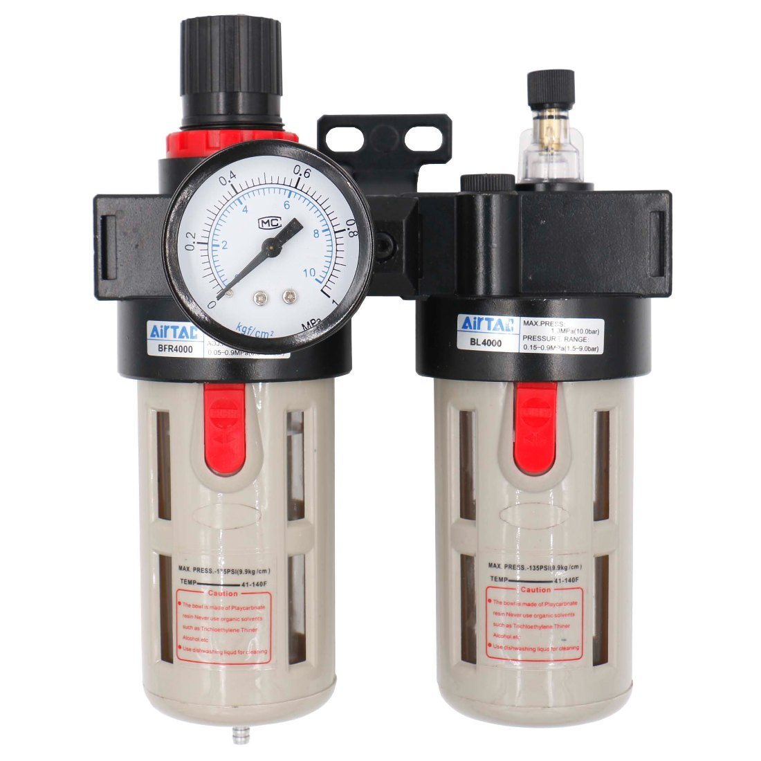 Baomain Air Source Treatment BFC-4000 Filter Regulator Lubricator Combination by Baomain