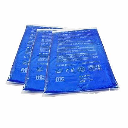 MC24 compresa fría caliente, gel, apto para microondas, 21 x ...