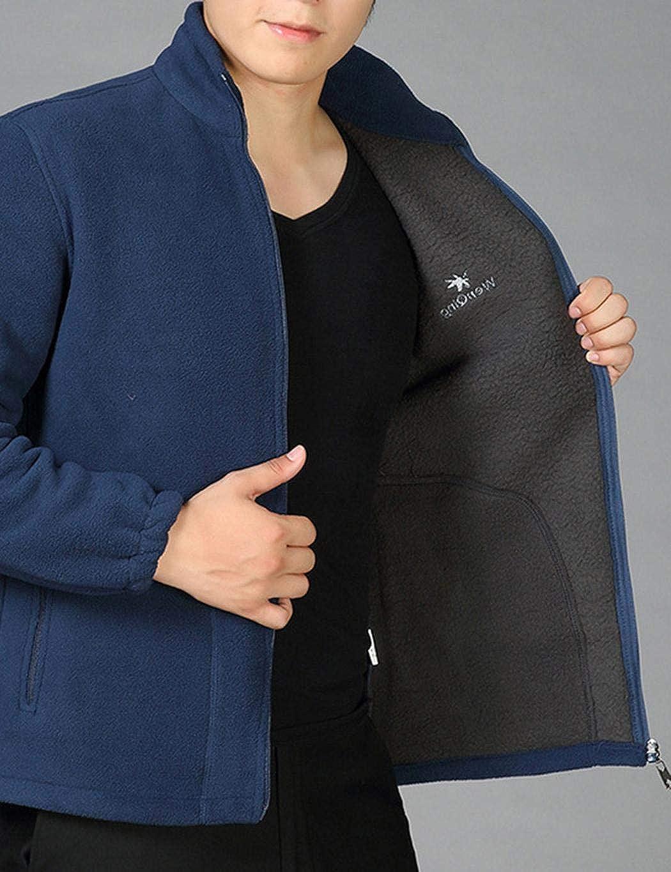 Giuoke Men Coats,Men Casual Oversize Cotton Stand Collar Long Sleeve Jacket Coats