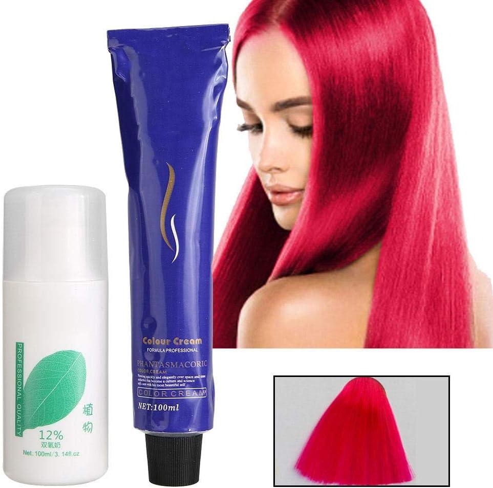 Crema para el color del cabello, herramienta de peluquería ...