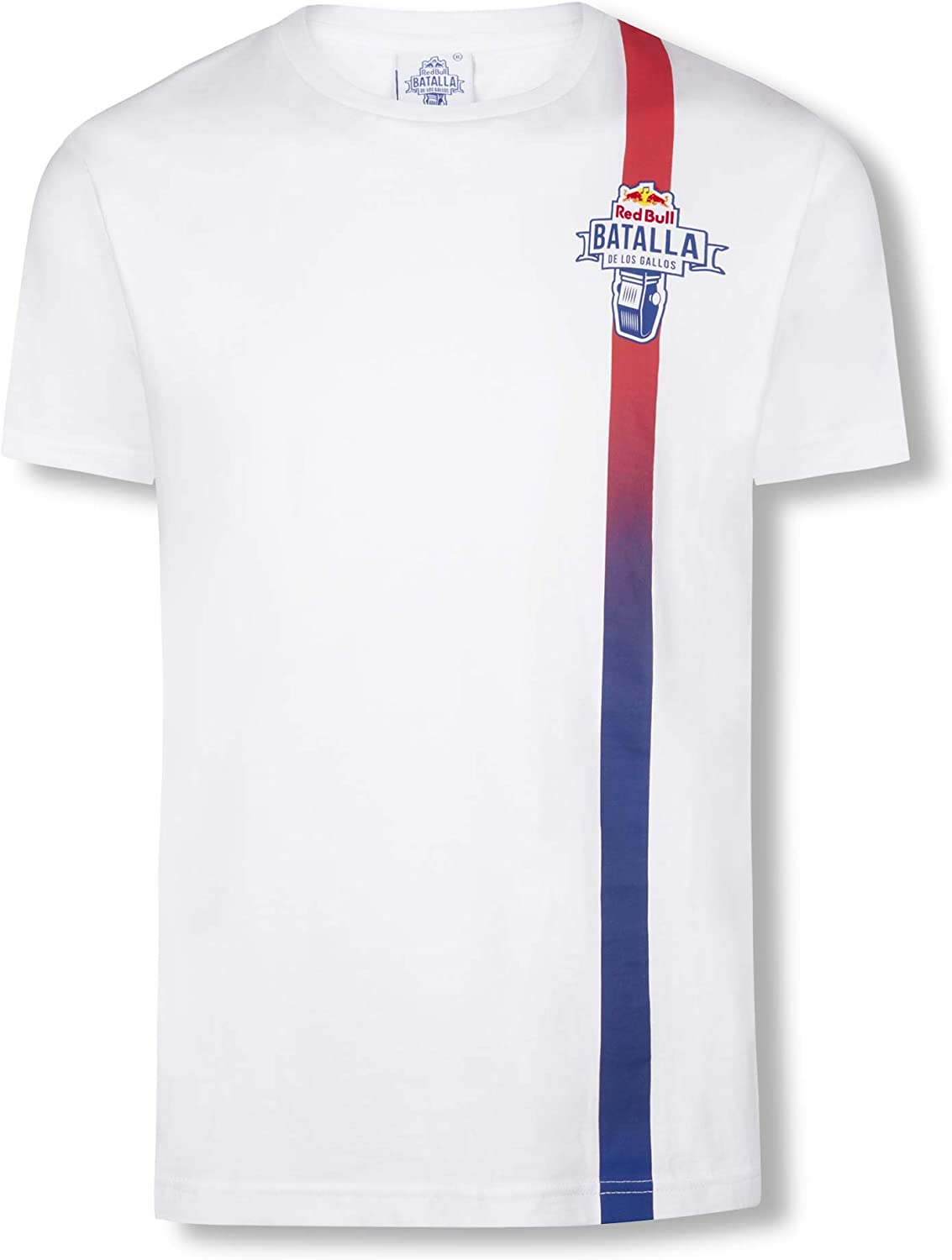Red Bull Batalla Fading Camiseta, Blanco Hombre XX-Large Top ...