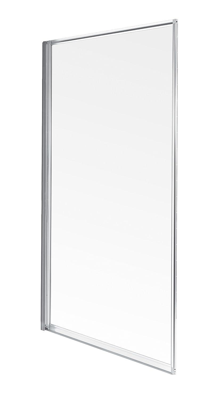 Aqualux - Pannello per vasca da bagno, colore: Bianco/Trasparente ...