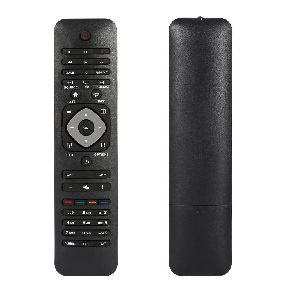Universal Fernbedienung fü r Philips Smart TV, TV Fernbedienung Ersatz fü r Philips Marke LCD LED Fernseher Zerone