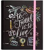 Grupo Erik Editores   Carpeta 4 Anillas Troquelada Premium Lily & Val