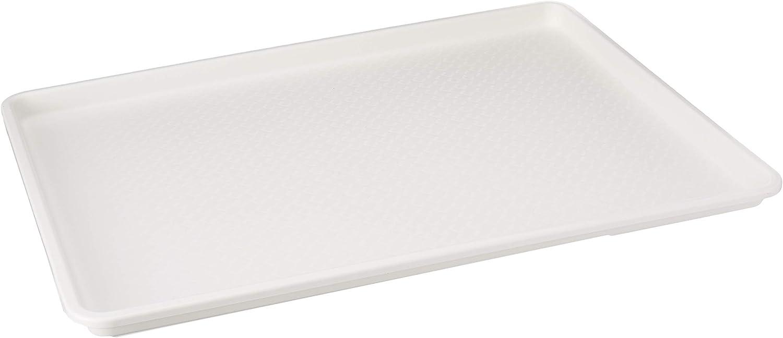 18 x 26 Inch Plastic Tray White
