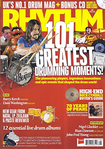 Rhythm Magazine (May 2016 - Uk's #1 Drum Magazine)