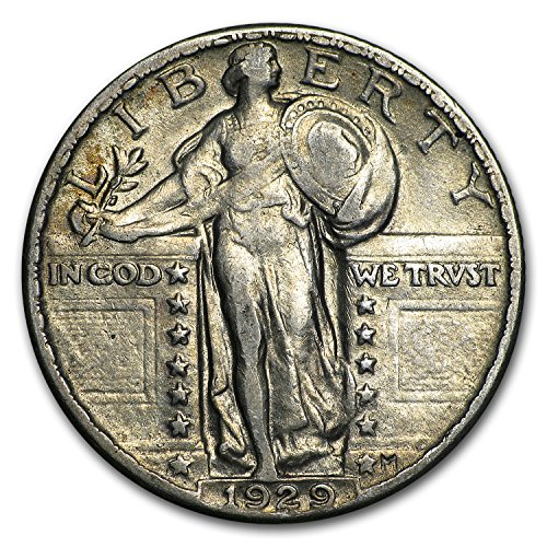 1929 Standing Liberty Quarter XF Quarter Extremely Fine (Standing Quarter 1929 Liberty)