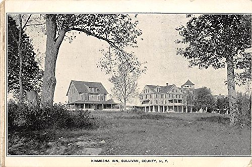Kiamesha Inn Booklet 7 images on 4 attached papers Kiamesha Lake, New York, Postcard