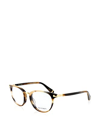 4752e2a1f0f Image Unavailable. Image not available for. Color  Zac Posen DAYLE Brown  Horn Eyeglasses ...
